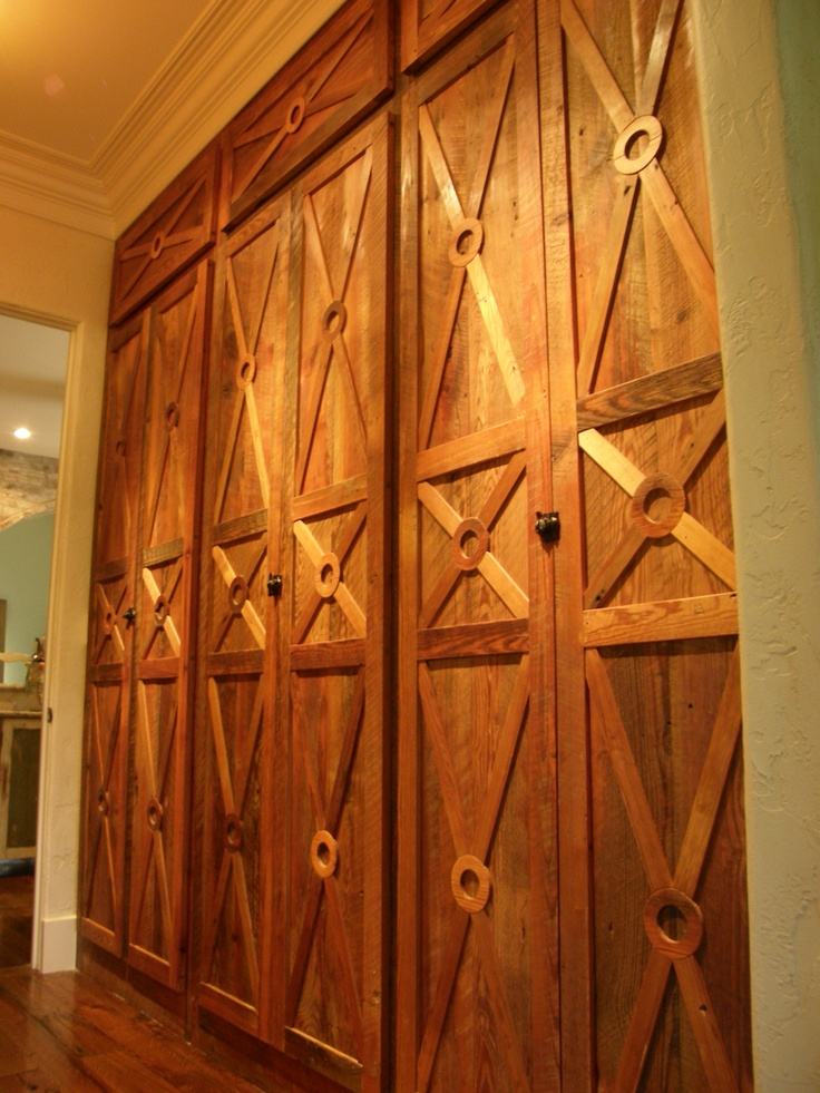83 best interior doors images on pinterest home ideas sliding a unique use of salvaged wood planetlyrics Image collections