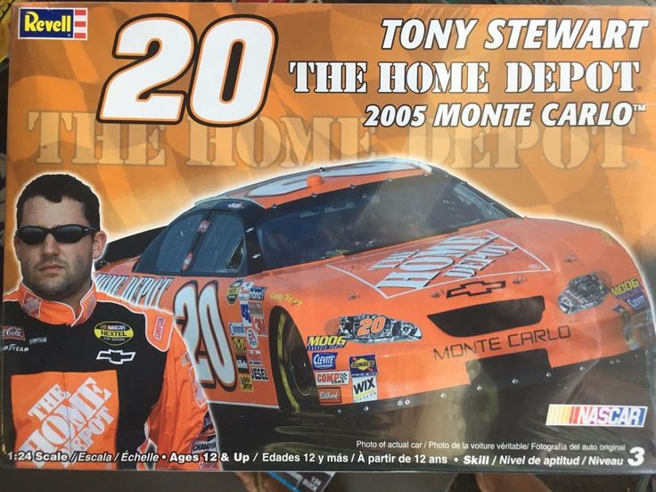 Tony Stewart #20 Home Depot 2005 Chevy Monte Carlo Model Kit Sealed