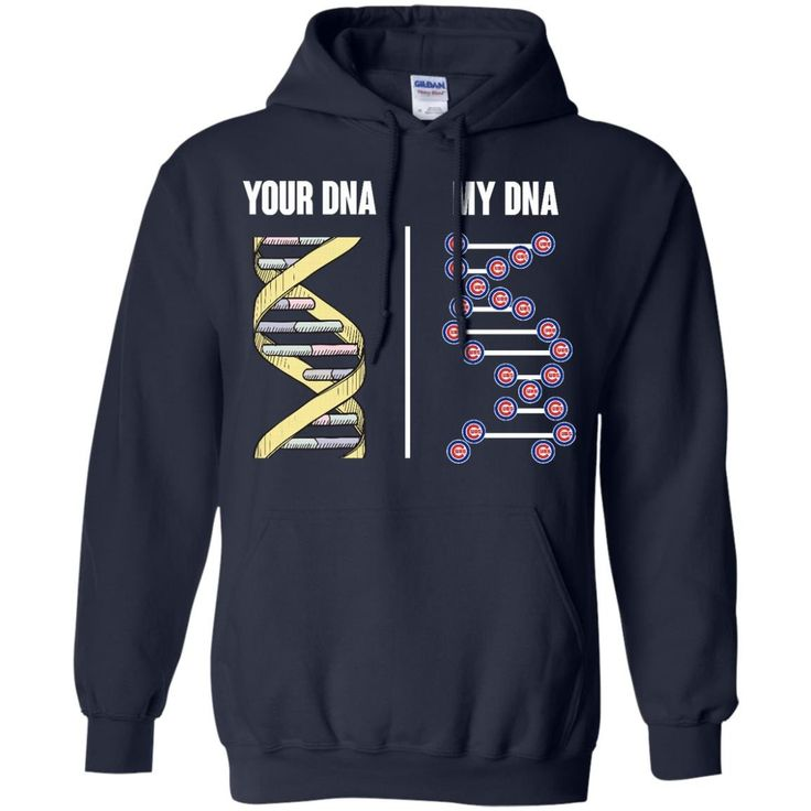 Chicago Cubs T shirts Your DNA My DNA Hoodies Sweatshirts