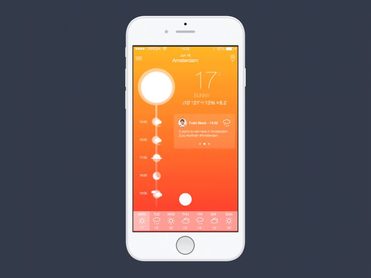 Weather App by Thais Souza