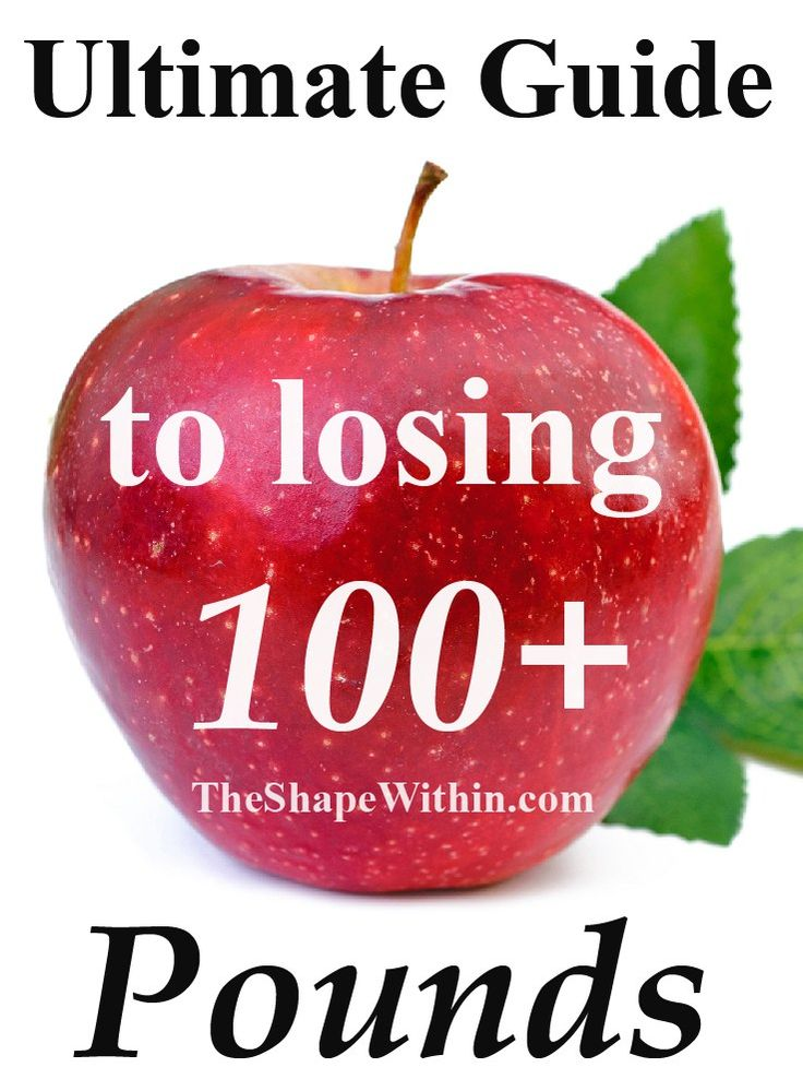 Learn how to lose 100 pounds with this amazing and super in-depth guide. Lose lots of weight and change your life forever! | Start your weight loss journey at TheShapeWithin.com