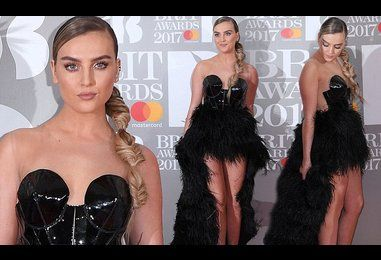 Perrie Edwards prepares for Zayn Malik battle at the BRITs