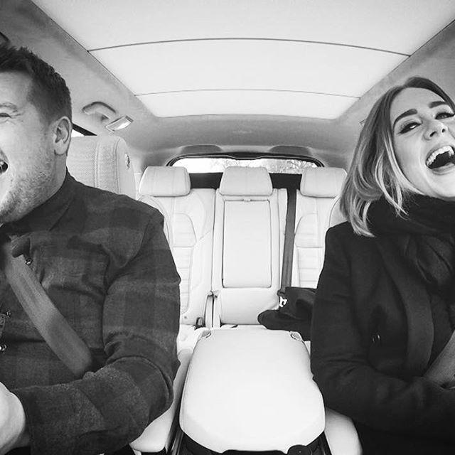 #CarpoolKaraoke with adele