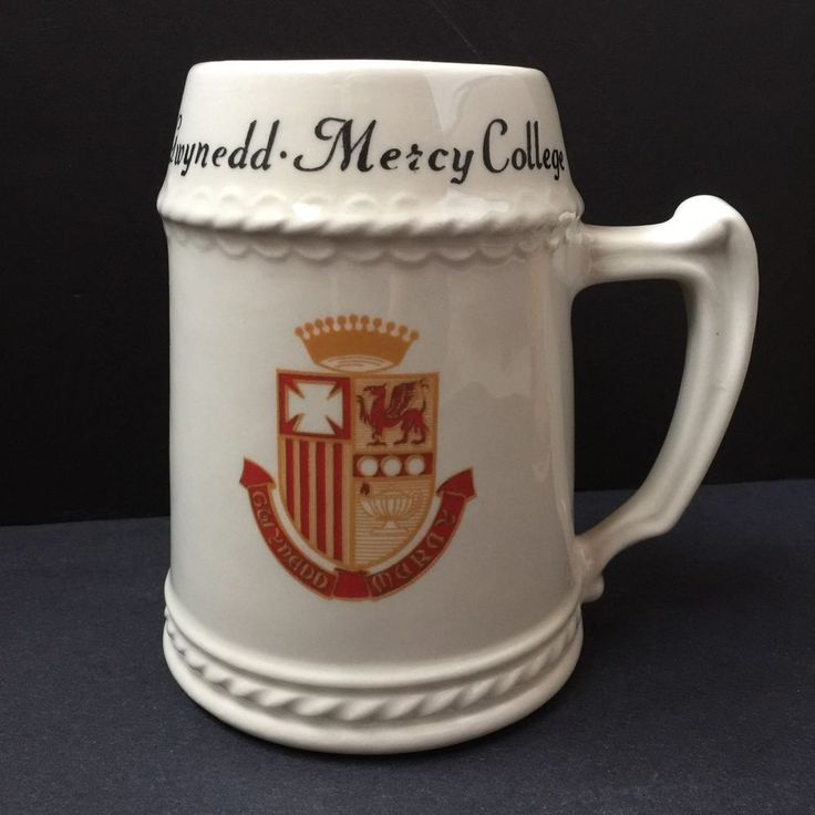 Gwynedd Mercy College Beer Stein Mug PA Vtg USA Imperial China Trenton NJ 24oz  | eBay
