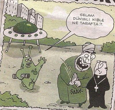 Yigit Özgür Uzaylı Karikatür