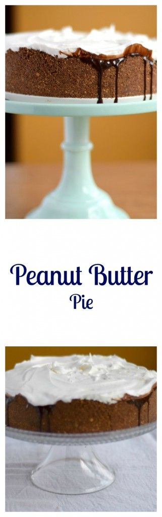 Peanut Butter Pie is one of the most delicious pies I've ever had. It's super easy and requires no baking and very few ingredients | Beer Girl Cooks