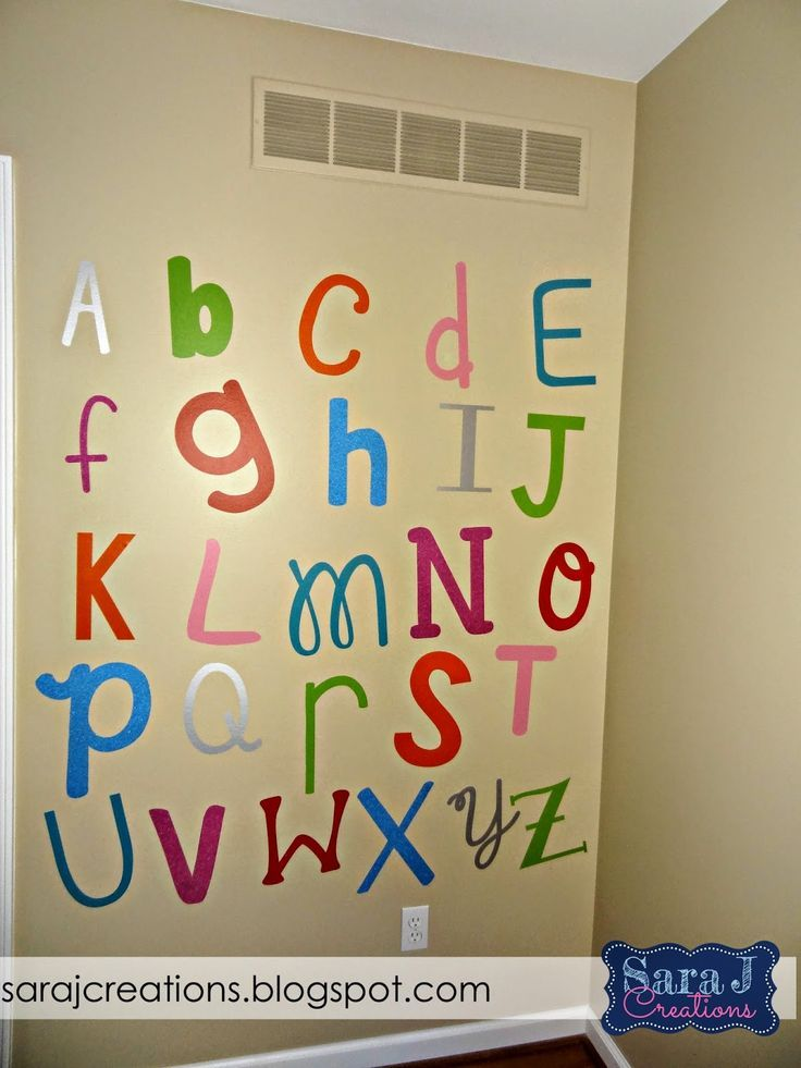 Abc Wall Decor Image collections - home design wall stickers