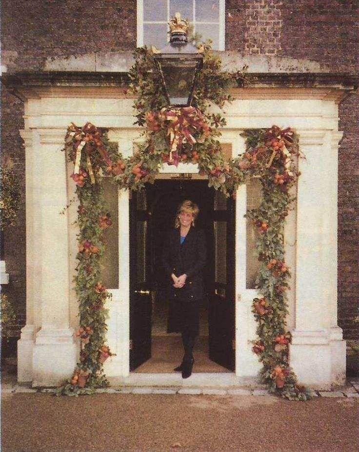 Princess Diana at Kensington Palace