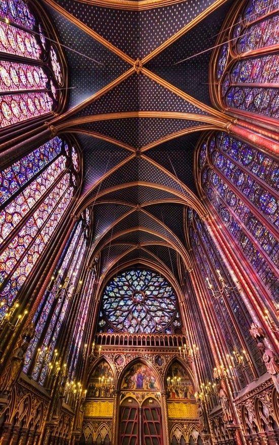 Sainte Chapelle, France