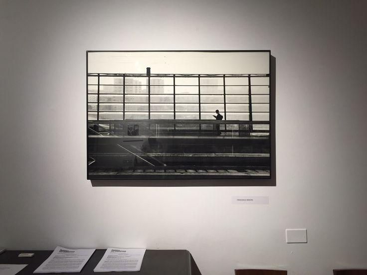 Eccovi alcune foto dell'allestimento. In questa un'opera di Francesco Nencini in sala riunioni.