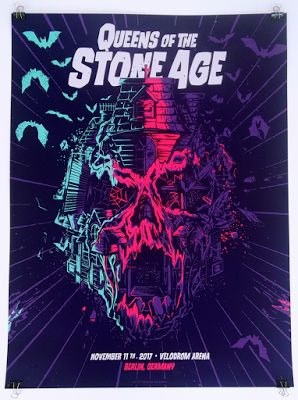 Movie Posters : Mariano Arcamone Queens of the Stone Age Berlin Poster Release