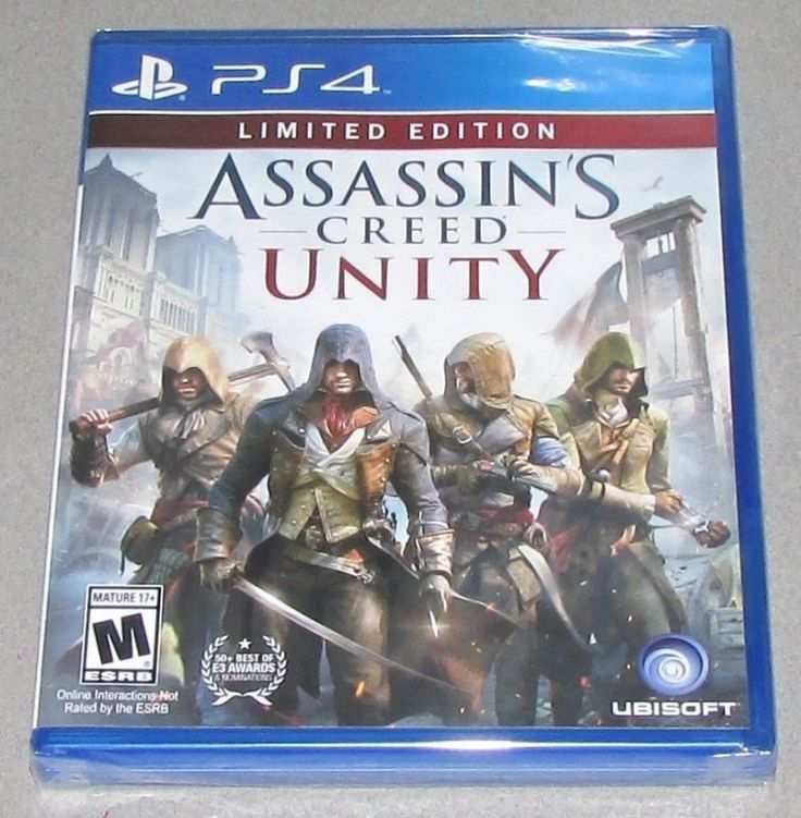 Assassin's Creed Unity Platform: Playstation 4 Game is Brand New, Factory Sealed! We Ship Fast! All Orders Ship Same or Next Business Day! Shipping: U... #factory #sealed #brand #playstation #creed #unity #assassins