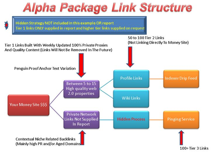 Awesome Alpha Link Package!   This service is incredible.