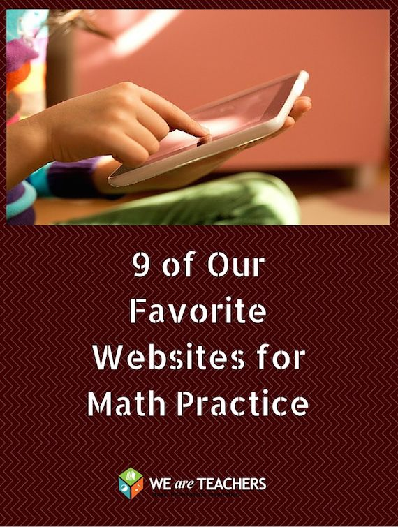 9 of Our Favorite Websites for Math Practice