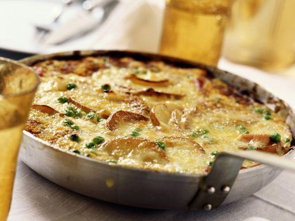 Spanische Kartoffeltortilla ist ein Rezept mit frischen Zutaten aus der Kategorie Omelett. Probieren Sie dieses und weitere Rezepte von EAT SMARTER!