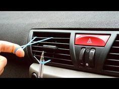 Sie klemmt ein Gummi in die Autolüftung - aus einem genialen Grund... | LikeMag | We Like You