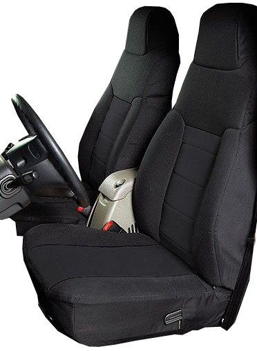 Tremendous Rugged Ridge Neoprene Front Seat Covers Black 03 06 Jeep Dailytribune Chair Design For Home Dailytribuneorg
