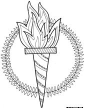 Ancient Greek Olympics Coloring Pages | click on the picture for easy download