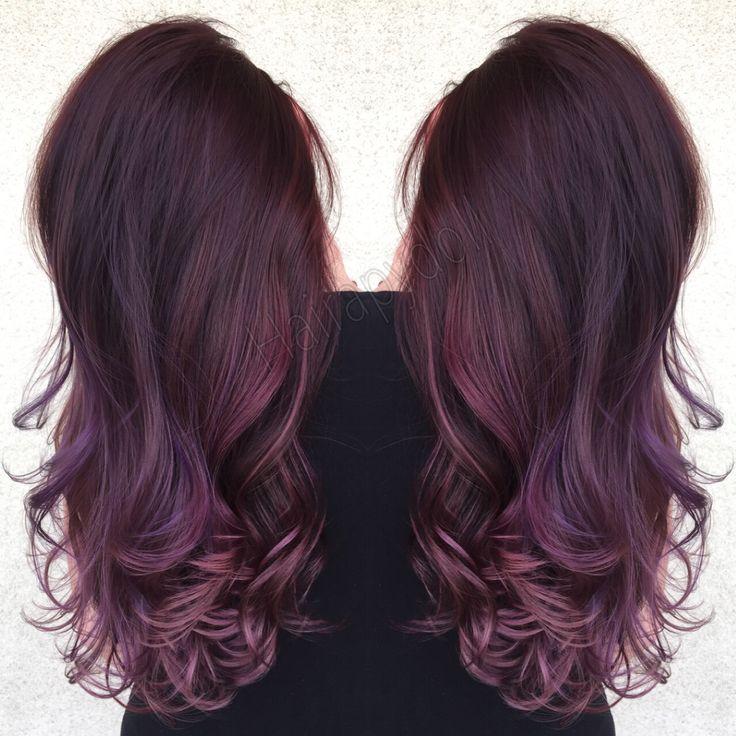 Antique amethyst @monicaprusa purple hair violet hair lilac hair