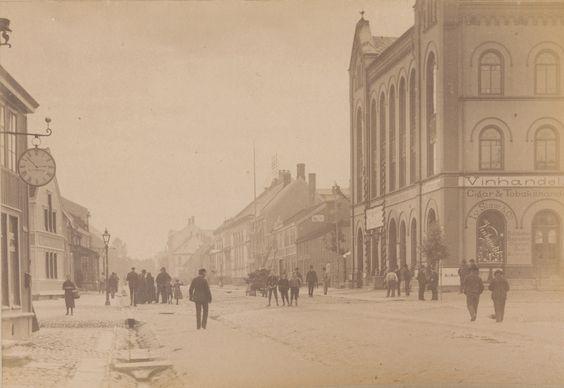 Trondheim, Norway in circa 1893