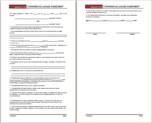commercial lease agreement template at http://freeagreementtemplates.com/commercial-lease-agreement-template-free/