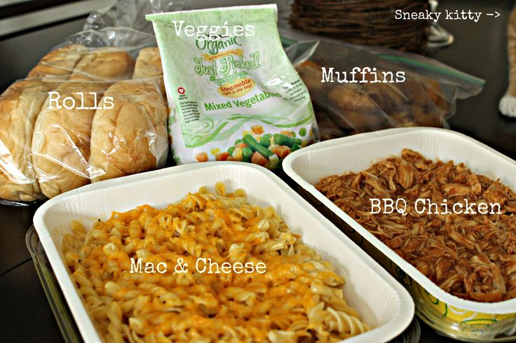 Meals for New Moms | Stick a Fork in It. Large list of meals to bring new parents.