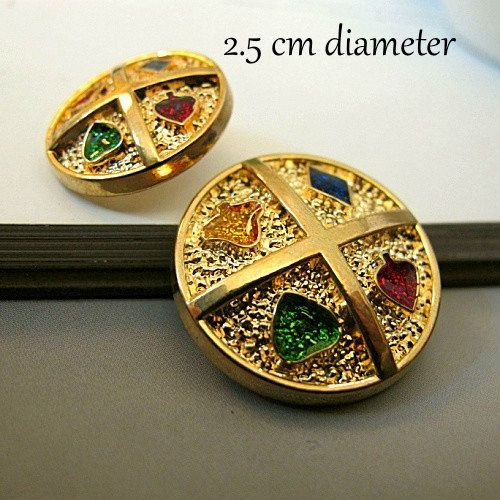 x15 Alloy Metal Vintage style Gold coloured by CRAFTFIXESANDMORE, $20.90