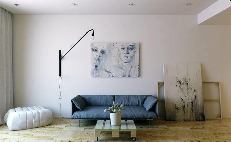 minimalist living room  Interior Design Ideas.
