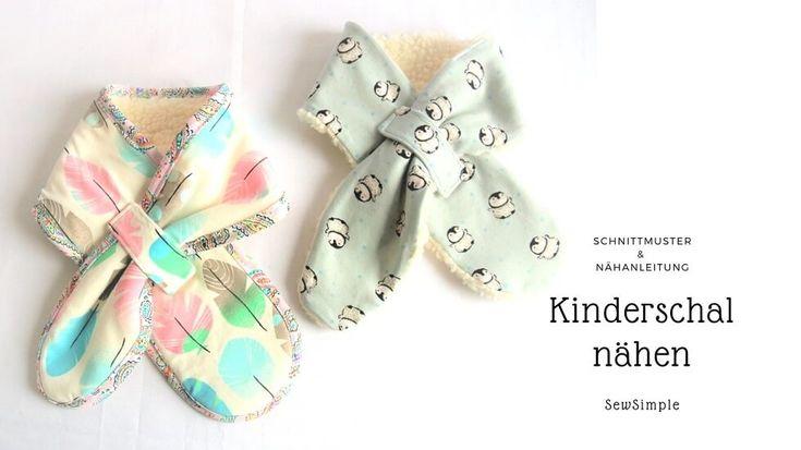 Ebook: Schal für Kinder nähen | Schnittmuster