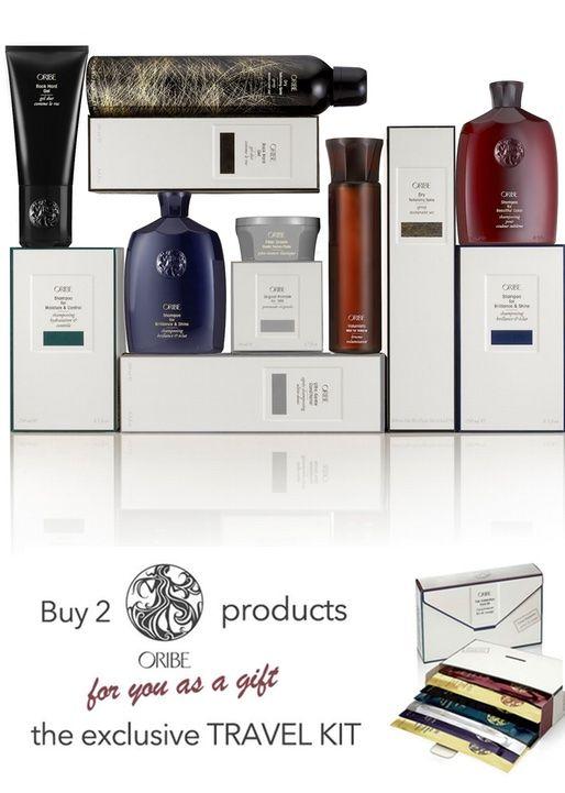 Comprando due prodotti Oribe avrai un kit da viaggio in #OMAGGIO! Vuoi provare? http://bit.ly/1y5ea1B Buy 2 products Oribe and get a travel kit for #free! #promo #promozione #hairdo #hairstyle #haircare #style