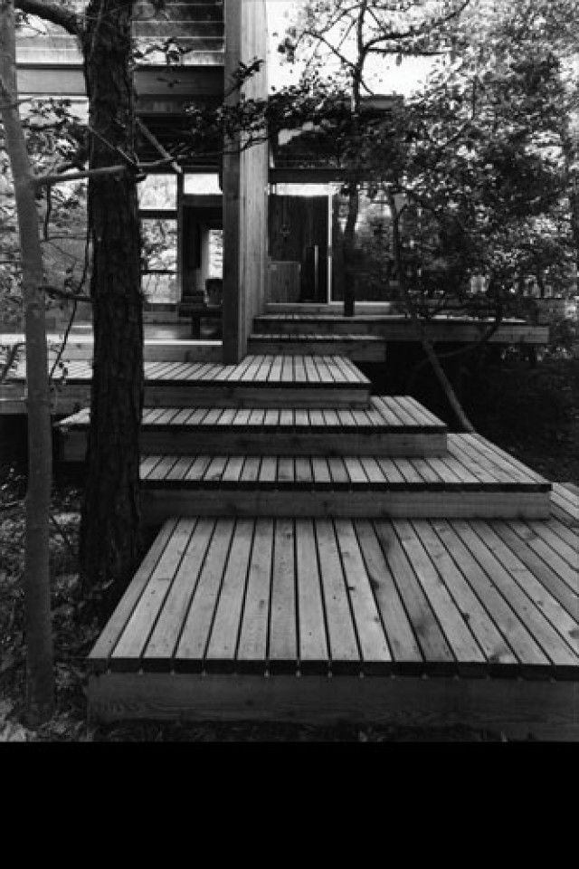 Shot of one Horrace Gifford's amazing modernist architecture on Fire Island, NY.