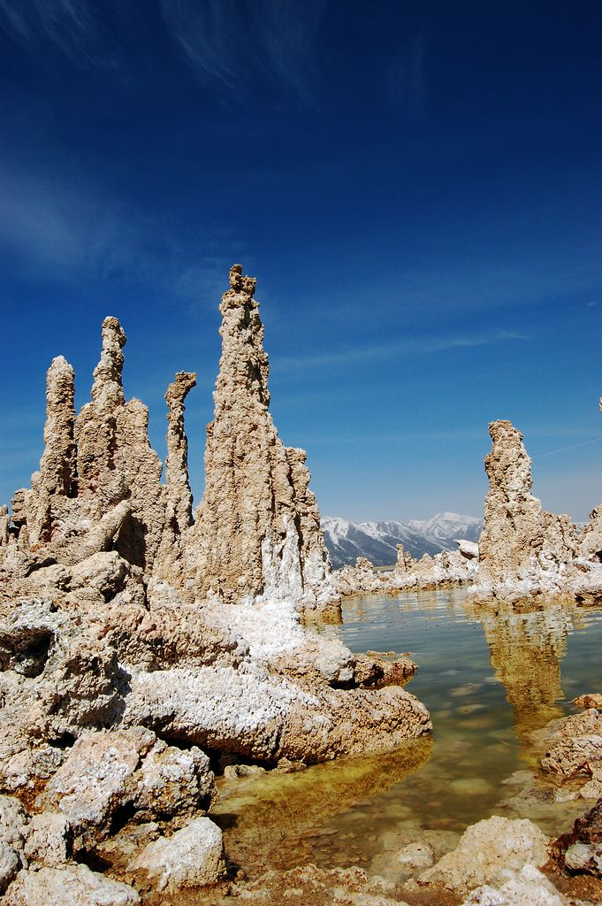 https://flic.kr/p/9AAttW | South Tufa at Mono Lake | Tufa is a variety of limestone, formed by the precipitation of carbonate minerals from ambient temperature water bodies.