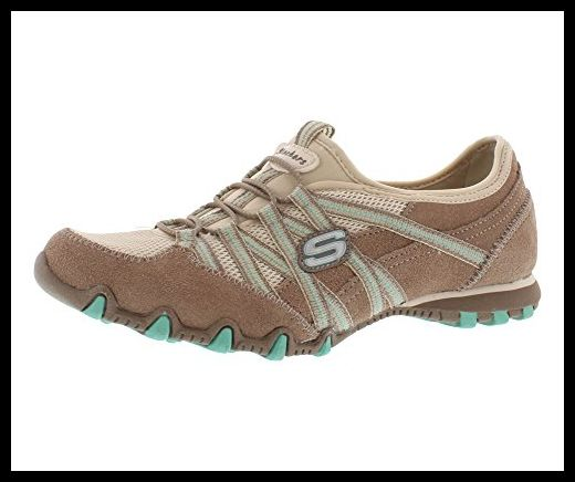 Skechers Bikers Stereo Sound Womens Sneakers Taupe/Natural 6