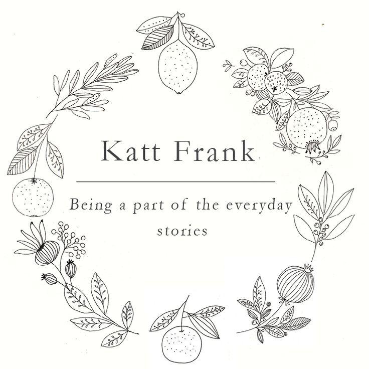 Katt Frank logo. Designed and illustrated by Katt Frank www.kattfrank.com