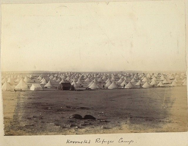 Photos in Photos from Anglo Boere Oorlog/Boer War (1899-1902) KROONSTAD Camp/Kamp