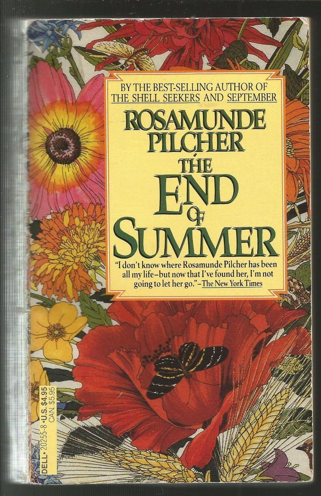 The End of Summer by Rosamunde Pilcher(Copyright 1971/May 1989 in USA Paperback)