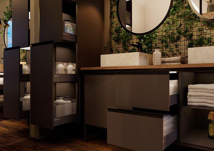 Baño organizado en 2020 | Antracita, Cajones, Muebles de baño