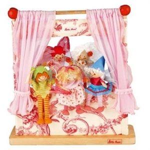 Il teatrino dei burattini | Giochi in legno | giocattoli in legno | giochi educativi | giochi da tavolo | giochi per neonati | giochi ecologici | casa bambole