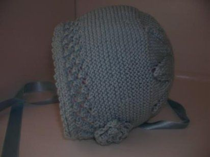 Capota de lana para bebe