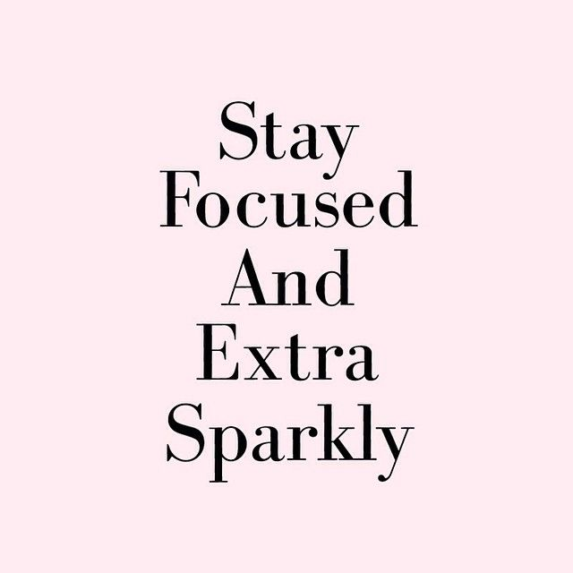 http://www.pinterest.com/lilyslibrary/ Stay focused and extra sparkly