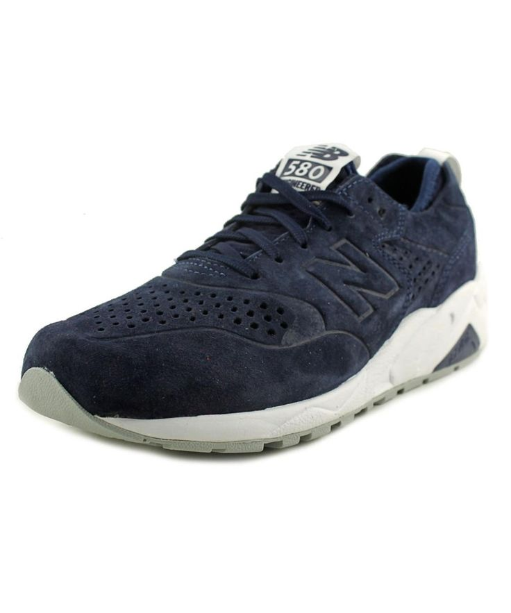 NEW BALANCE NEW BALANCE MRT580 MEN  ROUND TOE SUEDE BLUE RUNNING SHOE'. #newbalance #shoes #sneakers