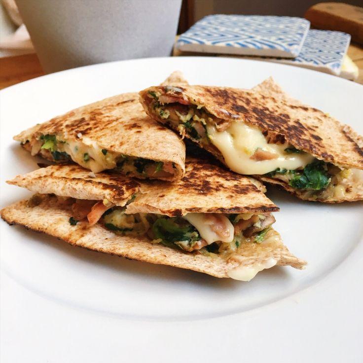 Quesadilla petit-déjeuner minceur – Rosie et les recettes   – Slimming World Friendly Recipes and Ideas