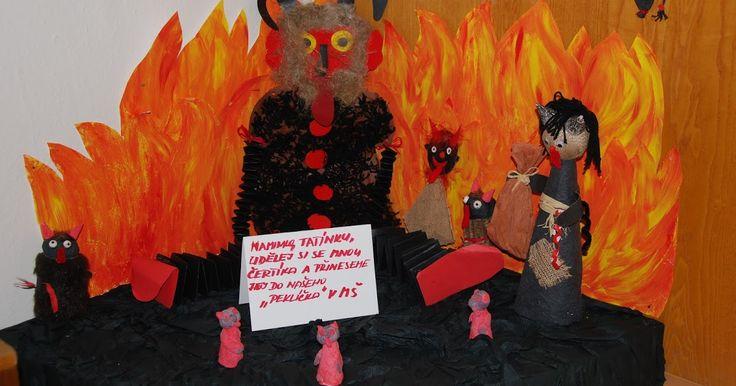 Tohle krásné peklíčko jsem našla u třídy Koťátek. Moc pěkný nápad, jak zapojit rodiče a děti do společného tvoření. Jak se peklíčko zaplnilo...