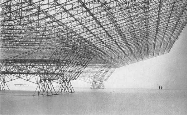 Konrad Wachsmann. Hangar for the American Air Force. 1951.: Airforce, 07 Structure, Interiors Architecture, Konrad Wachsmann, Architecture Inspiration, Home Architecture, Spaces Frames, Architecture Design, Architecture Models