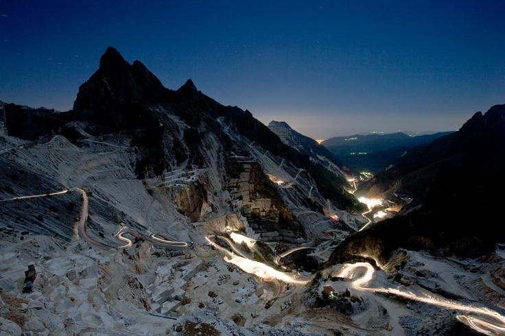 Cave, Carrara, Italy