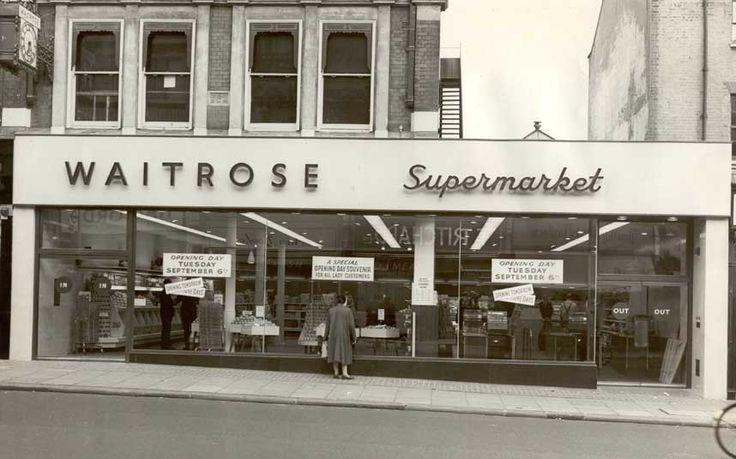 Waitrose first supermarket 1955