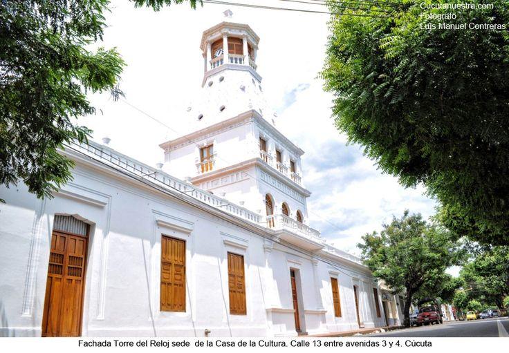 Ubicado en la avenida 2, frente al parque Colón o parque de la Victoria. antiguamente funcionó como el hospital San Juan de Dios que fue restaurado y acondicionado para darle paso a esta, la mas importante biblioteca del Departamento Norte de Santander.