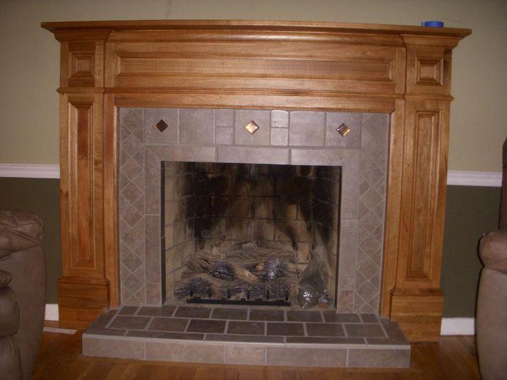 Wood Fireplace Mantel Surround Part - 41: Rustic Wood Fireplace Mantel - Http://www.skysangels.com/rustic