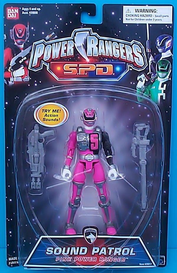 Sentai Dekaranger DekaPink / Power Rangers SPD Sound Patrol Pink Ranger #Bandai