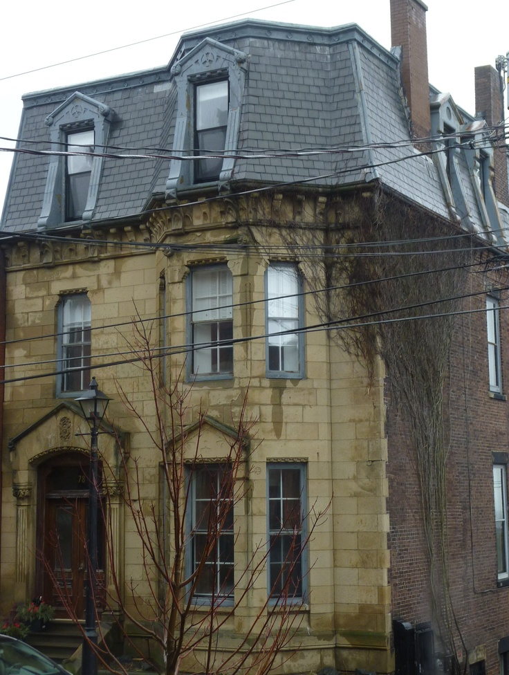 "William Shives Fisher Residence is a brick 2.5 storey Second Empire building with a stone front façade,  Built in 1879,  Its association with William Shives Fisher as one of the leading manufacturers and businessmen of Canada. He took up residence at this address in 1890. In 1878, he partnered with Robert B. Emerson and they jointly established the firm of ""Emerson & Fisher.""  Fisher remained at this residence until his death in 1931."